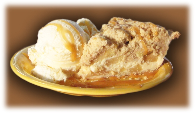 sour cream apple crumb